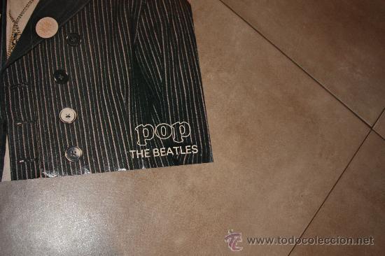 Cine: POSTE DE POP THE BEATLES MIDE 83X56 ORIGINAL DE EPOCA AÑO 1960-1970 - Foto 2 - 36129888