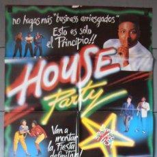 Cine: HOUSE PARTY, CARTEL DE CINE ORIGINAL 70X100 APROX (3870). Lote 36130995