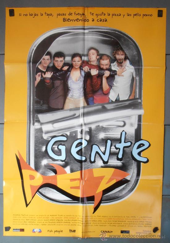 GENTE PEZ, CARTEL DE CINE ORIGINAL 70X100 APROX (3966) (Cine - Posters y Carteles - Comedia)