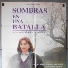 Cine: SOMBRAS EN UNA BATALLA,CARMEN MAURA CARTEL DE CINE ORIGINAL 70X100 APROX (4035). Lote 36136577