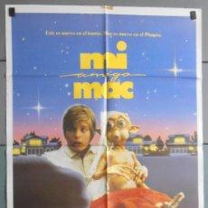 Cine: MI AMIGO MAC, CARTEL DE CINE ORIGINAL 70X100 APROX (4087). Lote 36136633