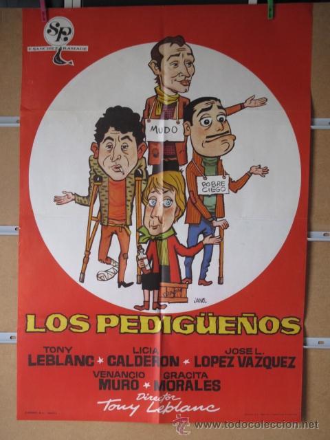 LOS PEDIGÜEÑOS (Cine - Posters y Carteles - Clasico Español)