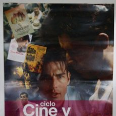Cine: CARTEL CICLO CINE Y DEPORTE - SALAMANCA 2009. Lote 36164164