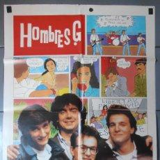 Cine: SUELTATE EL PELO,HOMBRES G CARTEL DE CINE ORIGINAL 70X100 APROX (9165). Lote 36193211