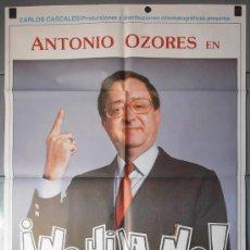 Cine: ¡NO HIJA NO!,JUANITO NAVARRO, GRACITA MORALES CARTEL DE CINE ORIGINAL 70X100 APROX (9016). Lote 36232469