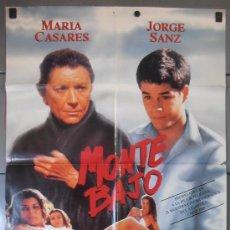 Cine: MONTE BAJO, CARTEL DE CINE ORIGINAL 70X100 APROX (9035). Lote 36232507