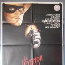 Cine: LA LEYENDA DEL LLANERO SOLITARIO, CARTEL DE CINE ORIGINAL 70X100 APROX (9163). Lote 36262092