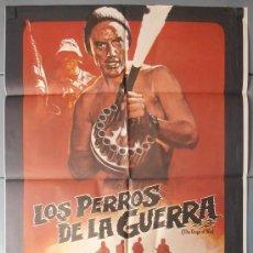 Cinéma: LOS PERROS DE LA GUERRA,TOM BERENGER CARTEL DE CINE ORIGINAL 70X100 APROX (9244). Lote 36272566