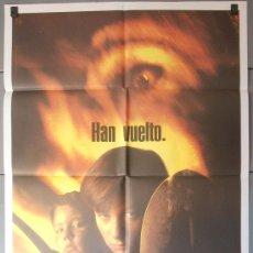 Cine: CEMENTERIO VIVIENTE DOS, CARTEL DE CINE ORIGINAL 70X100 APROX (4212). Lote 36344606