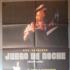 Cine: JUEGO DE NOCHE, CARTEL DE CINE ORIGINAL 70X100 APROX (4556). Lote 36374029