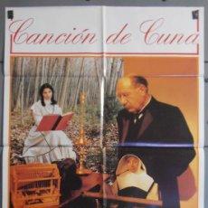 Cine: CANCION DE CUNA,MARIBEL VERDU, FIORELLA FALTOYANO CARTEL DE CINE ORIGINAL 70X100 APROX (4822). Lote 36398750