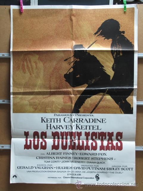 LOS DUELISTAS (Cine - Posters y Carteles - Acción)