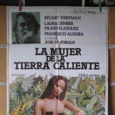 Cine: LA MUJER DE LA TIERRA CALIENTE. Lote 101161843