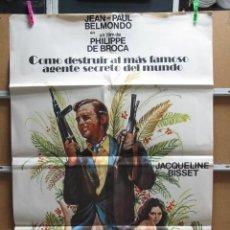Cinema: COMO DESTRUIR AL MAS FAMOSO AGENTE SECRETO DEL MUNDO. Lote 36450143