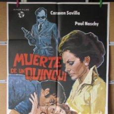 Cine: MUERTE DE UN QUINQUI. Lote 36454634