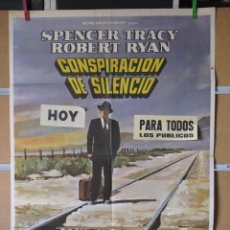 Cine: CONSPIRACION DE SILENCIO. Lote 36509178