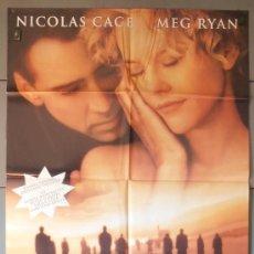 Cine: CITY OF ANGELS,NICOLAS CAGE, MEG RYAN CARTEL DE CINE ORIGINAL 70X100 APROX (4985). Lote 36436526