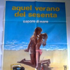 Cine: PÓSTER ORIGINAL AQUEL VERANO DEL SESENTA . Lote 36442504