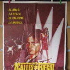 Cinéma: CALLES DE FUEGO. Lote 205538195