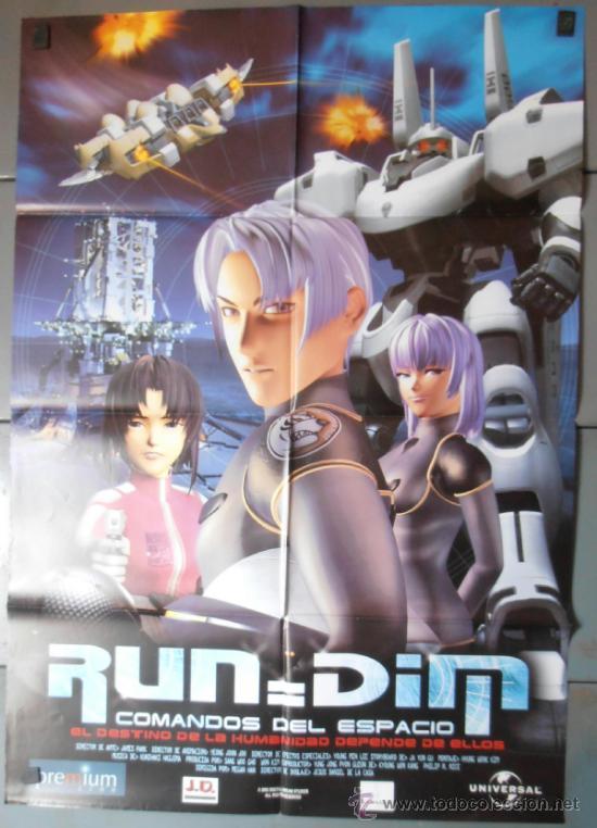 RUNDIM COMANDOS DEL ESPACIO, CARTEL DE CINE ORIGINAL 70X100 APROX (5501) (Cine - Posters y Carteles - Infantil)