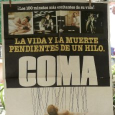 Cine: COMA - POSTER ORIGINAL DE LA EPOCA. Lote 36580252