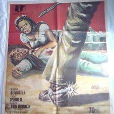 Cine: PÓSTER ORIGINAL FEDRA WEST (AÑO 1968). Lote 36593085