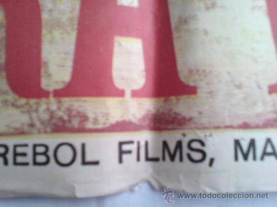 Cine: PÓSTER ORIGINAL FEDRA WEST (AÑO 1968) - Foto 3 - 36593085