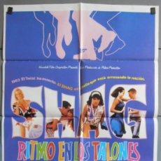 Cine: SHAG RITMO EN LOS TALONES, CARTEL DE CINE ORIGINAL 70X100 APROX (5718). Lote 36601937