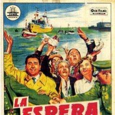 Cine: 'LA ESPERA'.- CARTEL CIFESA 100X70 APROX..- LITOGRAFIA.- DISEÑO: PERIS ARAGÓ.. Lote 36614415