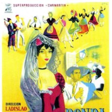 Cine: 'RONDA ESPAÑOLA'.- CARTEL 100X70 APROX..- LITOGRAFIA.- . Lote 36614742