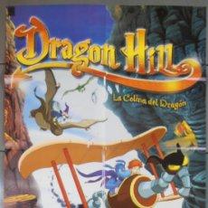 Cine: DRAGON HILL, CARTEL DE CINE ORIGINAL 70X100 APROX (9358). Lote 36661978