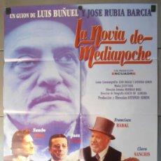 Cine: LA NOVIA DE MEDIANOCHE, CARTEL DE CINE ORIGINAL 70X100 APROX (9435). Lote 36680323