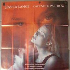 Cine: RELACION MORTAL,JESSICA LANGE CARTEL DE CINE ORIGINAL 70X100 APROX (9593). Lote 36689446
