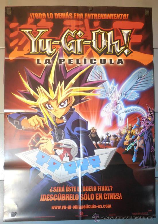 YU-GI-OH!, CARTEL DE CINE ORIGINAL 70X100 APROX (9924) (Cine - Posters y Carteles - Infantil)