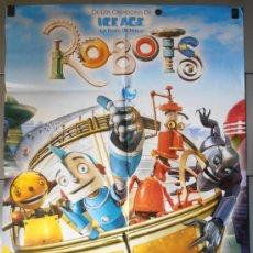 Cine: ROBOTS, CARTEL DE CINE ORIGINAL 70X100 APROX (10182). Lote 130310216