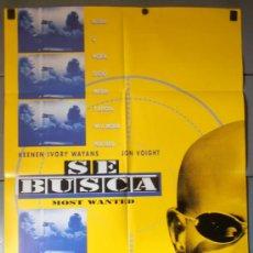 Cine: SE BUSCA, CARTEL DE CINE ORIGINAL 70X100 APROX (10192). Lote 36729364