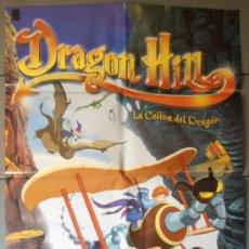 Cine: DRAGON HILL, CARTEL DE CINE ORIGINAL 70X100 APROX (5897). Lote 36761805