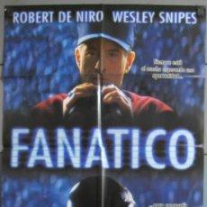 Cine: FANATICO,ROBERT DE NIRO CARTEL DE CINE ORIGINAL 70X100 APROX (6434). Lote 36808942