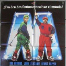 Cinema: SUPER MARIO BROS, CARTEL DE CINE ORIGINAL 70X100 APROX (6502). Lote 36808998