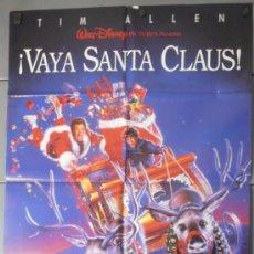 Cine: ¡VAYA SANTA CLAUS!,DISNEY CARTEL DE CINE ORIGINAL 70X100 APROX (6961). Lote 36875779