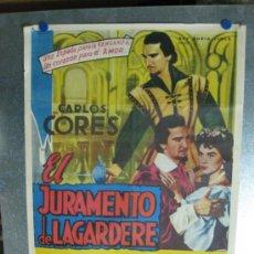 Cine: EL JURAMENTO DE LAGARDERE - CARLOS CORE, ELSA DANIEL, ANDRES MEJUTO. Lote 36898195