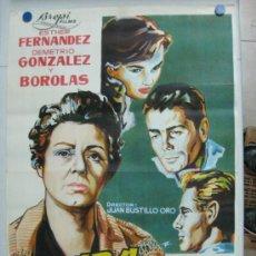 Cine: CADA HIJO UNA CRUZ - ESTHER FERNANDEZ, DEMETRIO GONZALEZ, BOROLAS - LITOGRAFIA - AÑO 1962. Lote 36922438