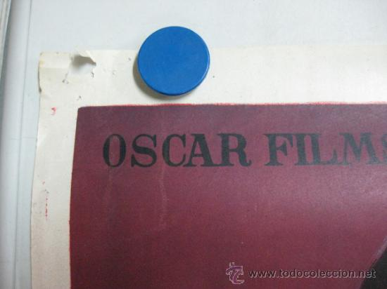 Cine: TUMBA DE ACERO - ROBERT BEATTY, LEE PATTERSON - LITOGRAFIA - AÑO 1959 - SOLIGO - Foto 4 - 36938176