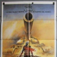 Cinema: LA BESTIA DE LA GUERRA, CARTEL DE CINE ORIGINAL 70X100 APROX (7288). Lote 36965231