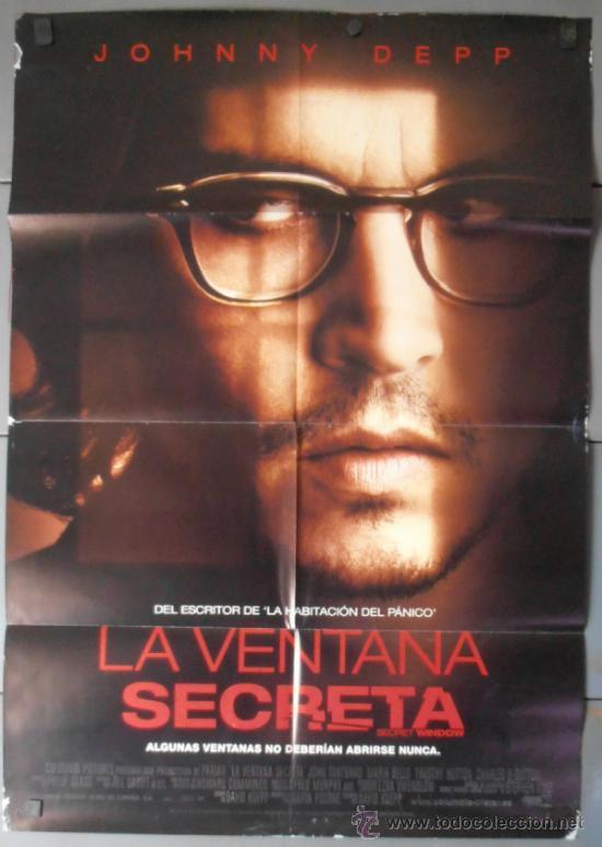 La Ventana Secreta Cartel De Cine Original 70x1 Comprar Carteles Y