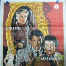 Cine: AVENIDA ROMA 66 - JUAN CAPRI, ANGEL JORDAN, ANNA AMENDOLA - AÑO 1959 - LITOGRAFIA. Lote 36987151