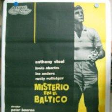 Cine: MISTERIO EN EL BALTICO - ANTHONY STEEL, LEWIS CHARLES - LITOGRAFIA. Lote 36989639