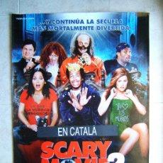Cine: SCARY MOVIE 2-KEENEN IVORI WAYANS-SHAWN WAYANS-POSTER SIN DOBLECES 98X66 CM-2001-ESTRENO EN ESPAÑA. . Lote 37042000