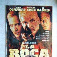 Cine: LA ROCA-MICHAEL BAY-SEAN CONNERY-NICOLAS CAGE-ED HARRIS-POSTER 100X66CM-1996-ESTRENO EN ESPAÑA.. Lote 71819581