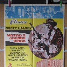 Cine: MATAD A JOHNNY RINGO. Lote 47805151